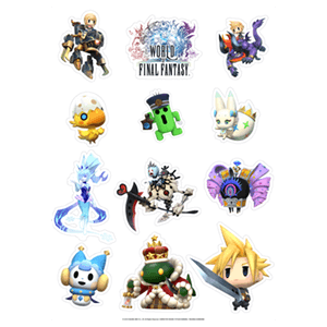 Kit Pegatinas World of Final Fantasy