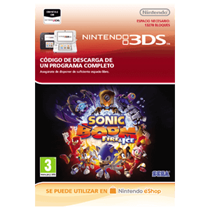 Sonic Boom Fire & Ice - 3DS