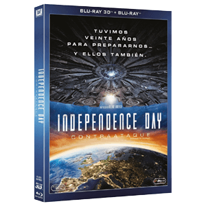 Independence Day: Contraataque BD 3D