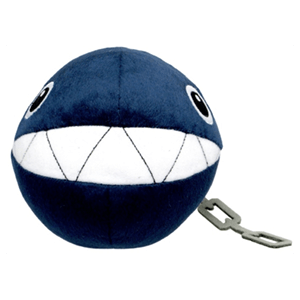 Peluche Super Mario: Chain Chomp 14cm