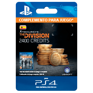 Tom Clancy's The Division - 2400 Premium Credits Pack PS4
