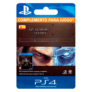 Tierra Media: Sombras de Guerra: Expansion Pass PS4