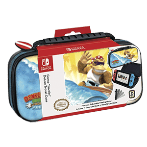 Game Traveller Deluxe Travel Case NNS52B Donkey Kong -Licencia oficial-