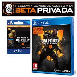 Call of Duty Black Ops 4 PS4 + Beta