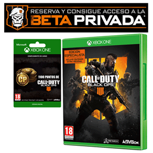 Call of Duty Black Ops 4 XONE + Beta