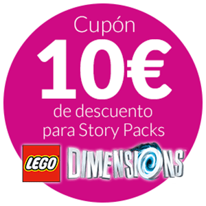 10€ DTO LEGO Dimensions Story Pack