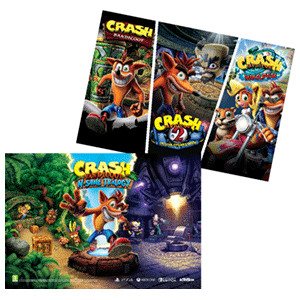 Crash Bandicoot N.Sane Trilogy - Póster 2018