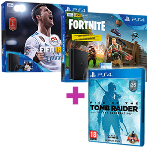 PlayStation 4 (500GB o 1TB) + Rise of the Tomb Raider de regalo