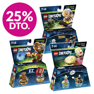 25% dto. en packs LEGO Dimensions Fun Pack