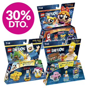 30% dto. en packs LEGO Dimensions Team & Level Pack