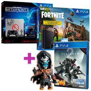 PlayStation 4 (500GB o 1TB) + Destiny 2 de regalo