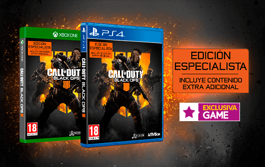 CALL OF DUTY BLACK OPS 4 – EDICIÓN ESPECIALISTA