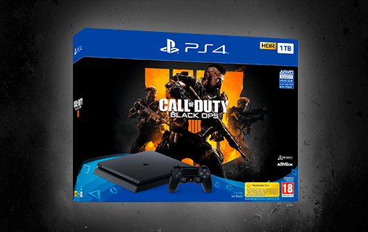 PLAYSTATION 4 + CALL OF DUTY BLACK OPS 4