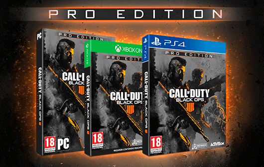 CALL OF DUTY BLACK OPS 4 – EDICIÓN PRO