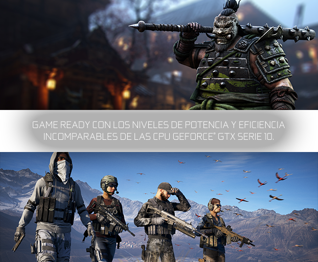 PROMO NVIDIA GTX 1080 / 1070 + For Honor o Ghost Recon: WildLands